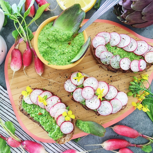 pesto-de-fanes-de-radis-the-good-and-the-food
