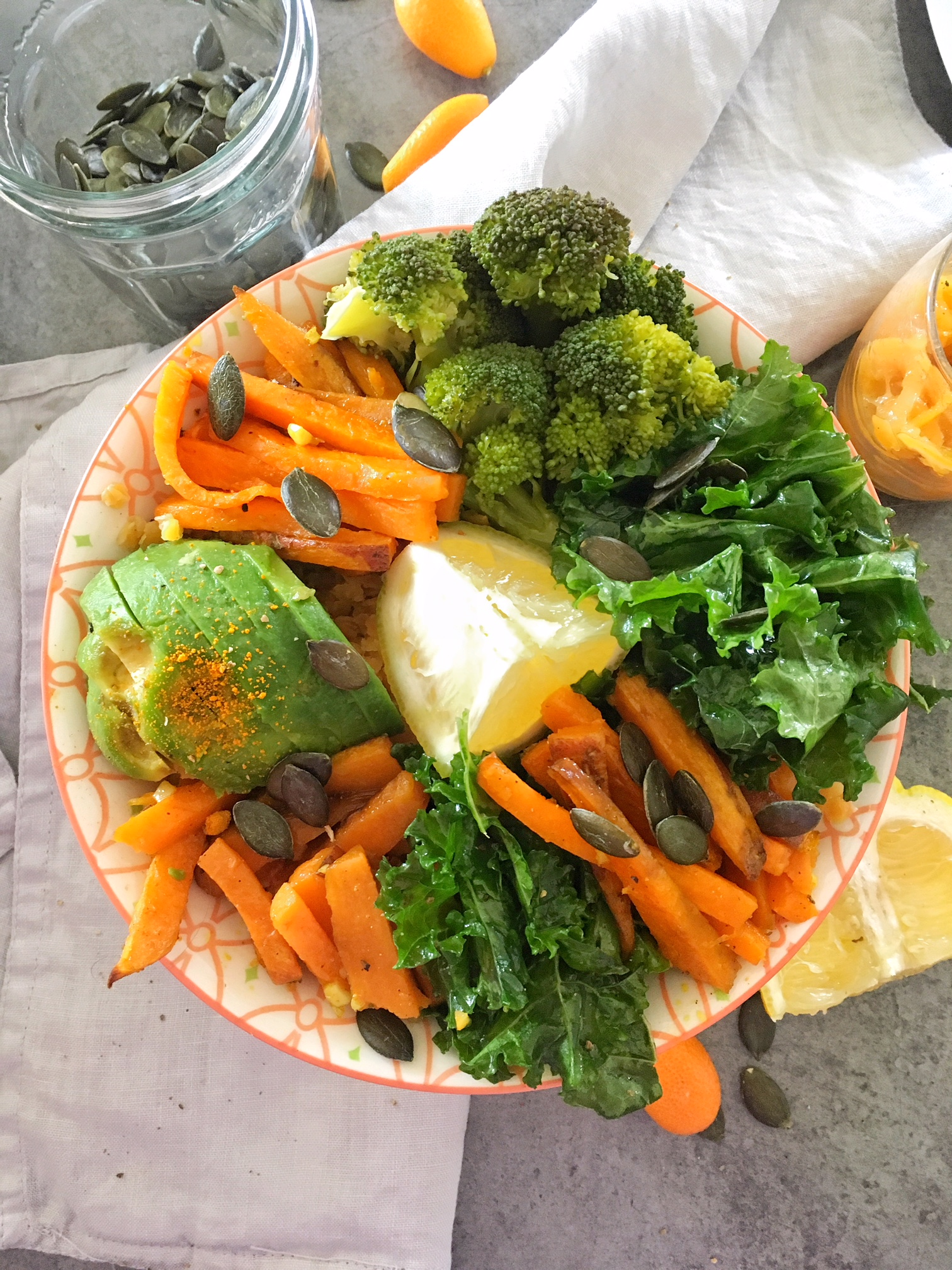 veggie-bowl-booster-immunité-thegoodandthefood